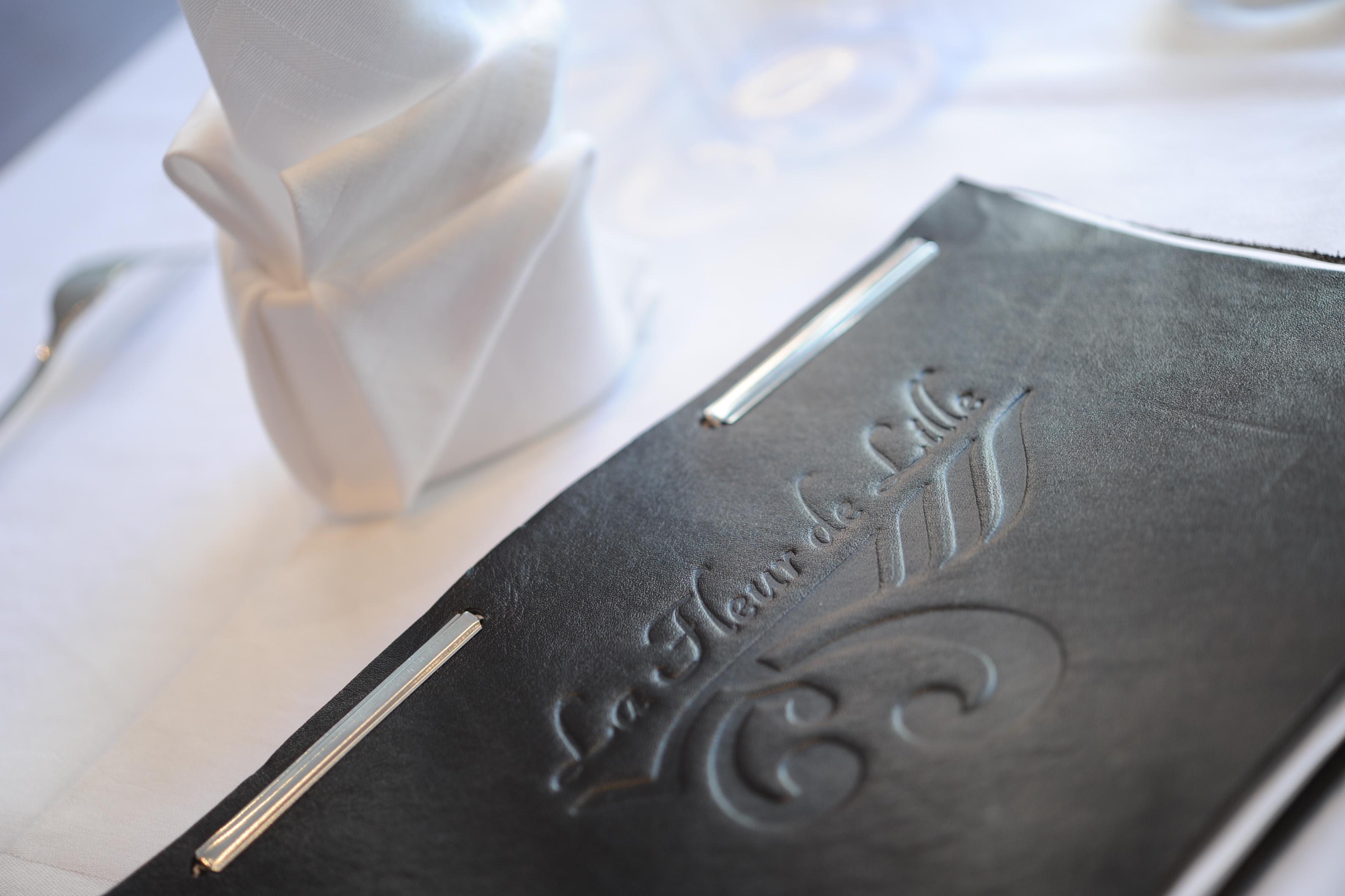 Couverture du menu du restaurant